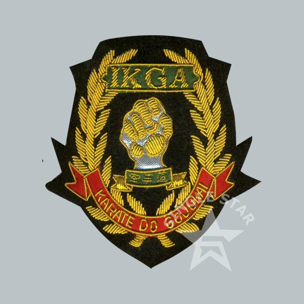 Hand Embroidered Bullion Badges | Single Star Traders